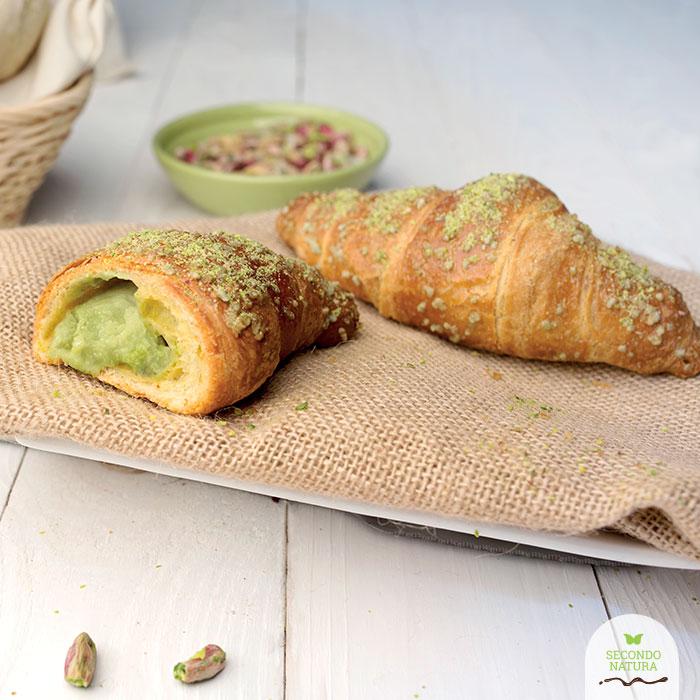 Croissant con pistacchio verde di Bronte D.O.P.