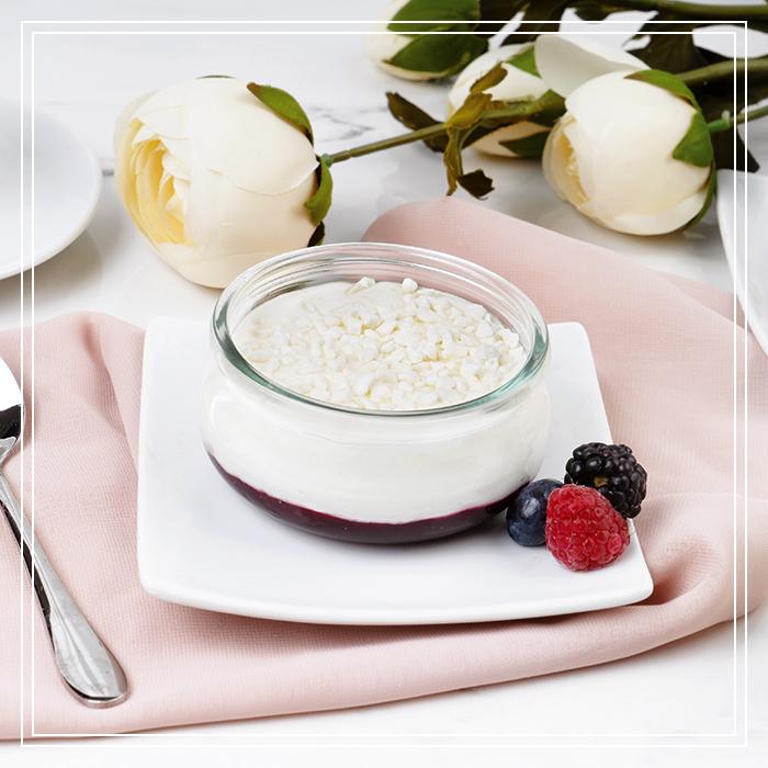 Semifreddo allo Yogurt e Frutti di Bosco