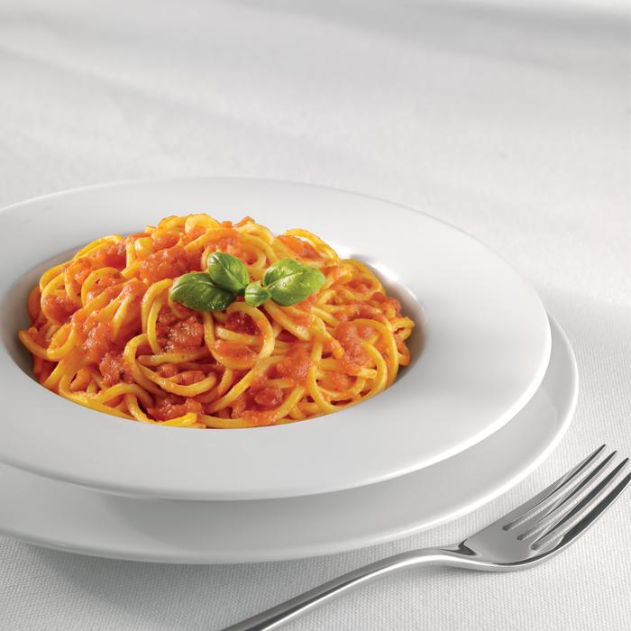 Spaghetti alla Chitarra Pomodoro e Basilico